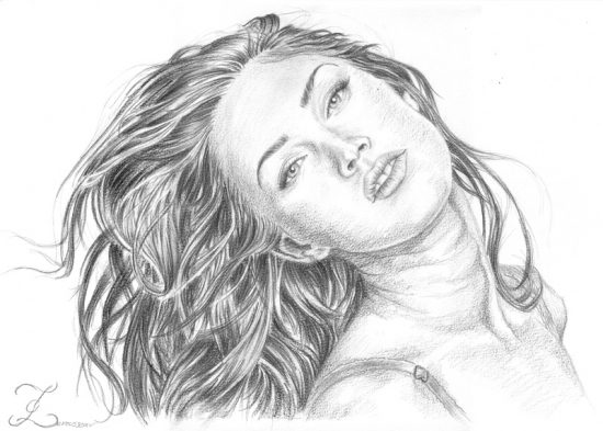Megan Fox by Olivier_Lerousseau